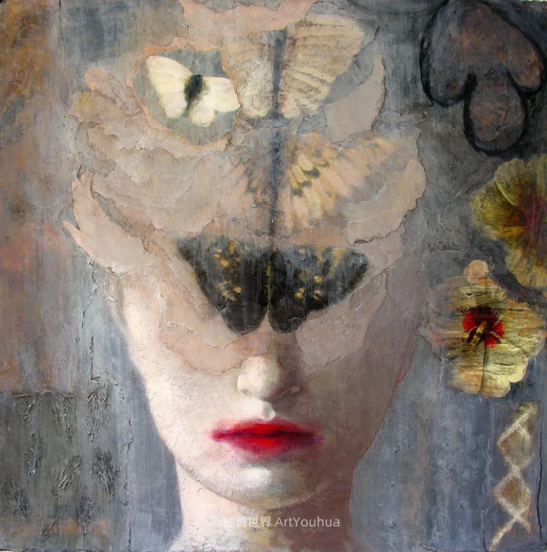 致力于形象表现的具象画家,幽灵般的人物肖像插图25