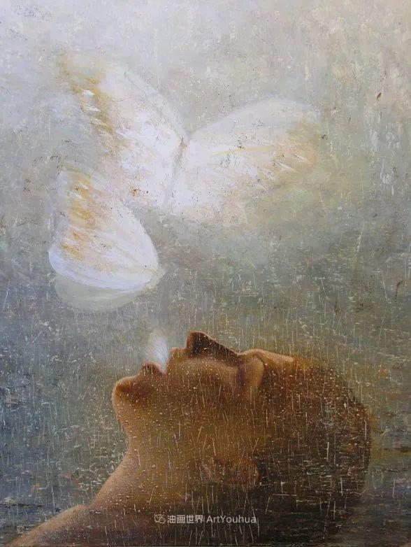 致力于形象表现的具象画家,幽灵般的人物肖像插图27