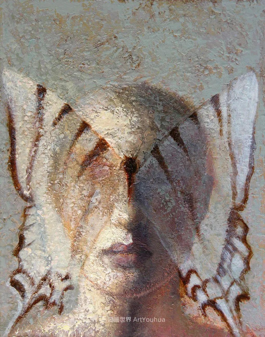 致力于形象表现的具象画家,幽灵般的人物肖像插图29