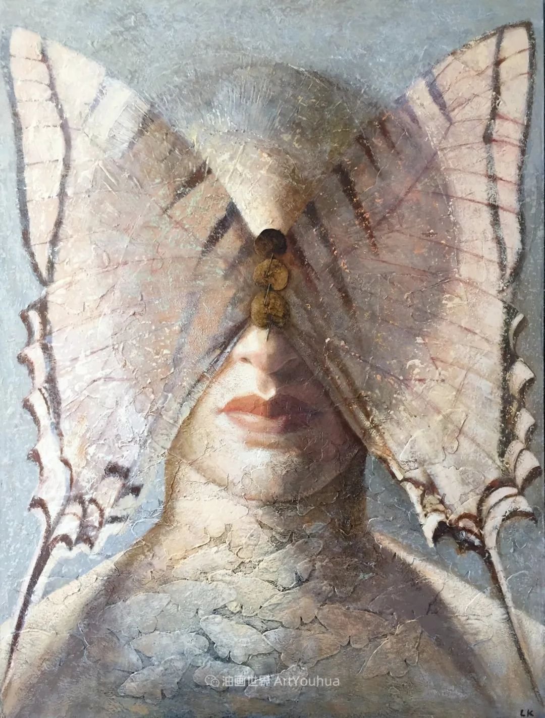 致力于形象表现的具象画家,幽灵般的人物肖像插图31