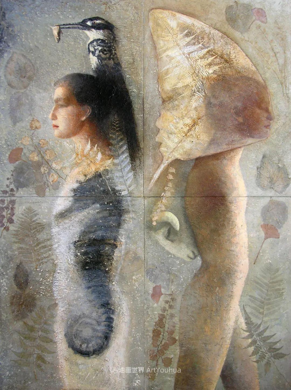 致力于形象表现的具象画家,幽灵般的人物肖像插图33