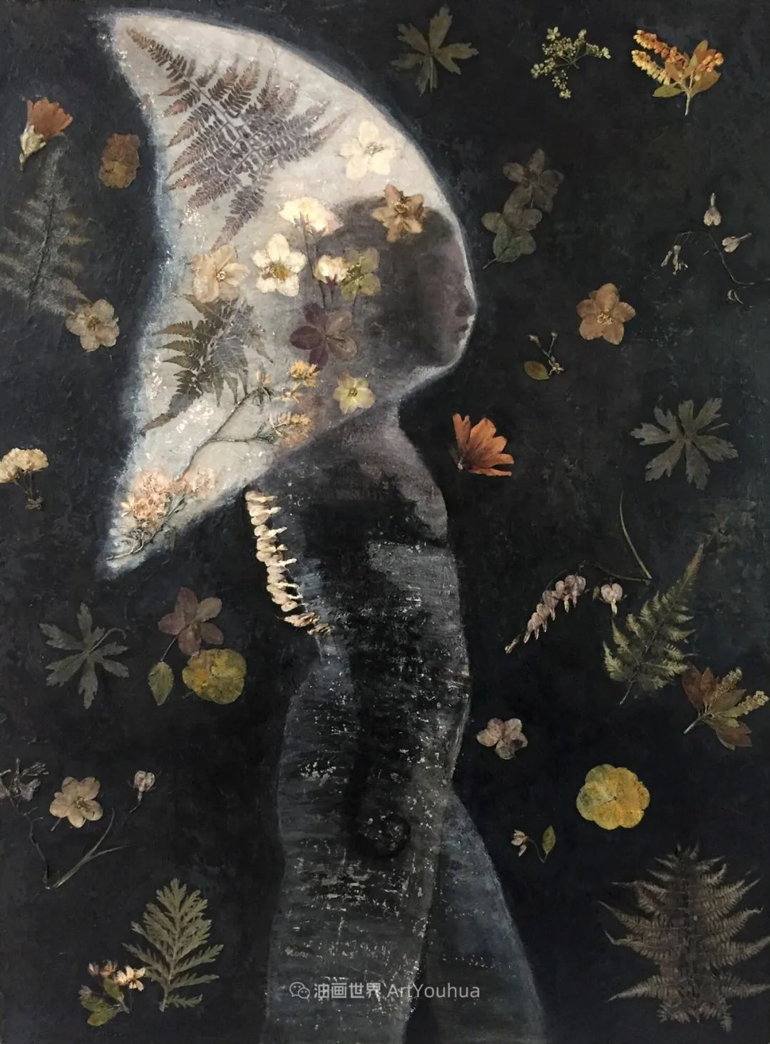致力于形象表现的具象画家,幽灵般的人物肖像插图35