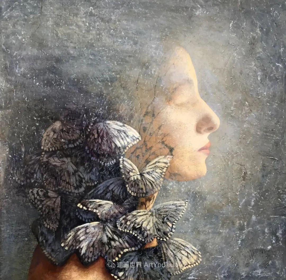 致力于形象表现的具象画家,幽灵般的人物肖像插图37