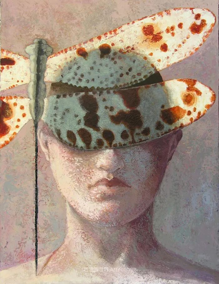 致力于形象表现的具象画家,幽灵般的人物肖像插图43
