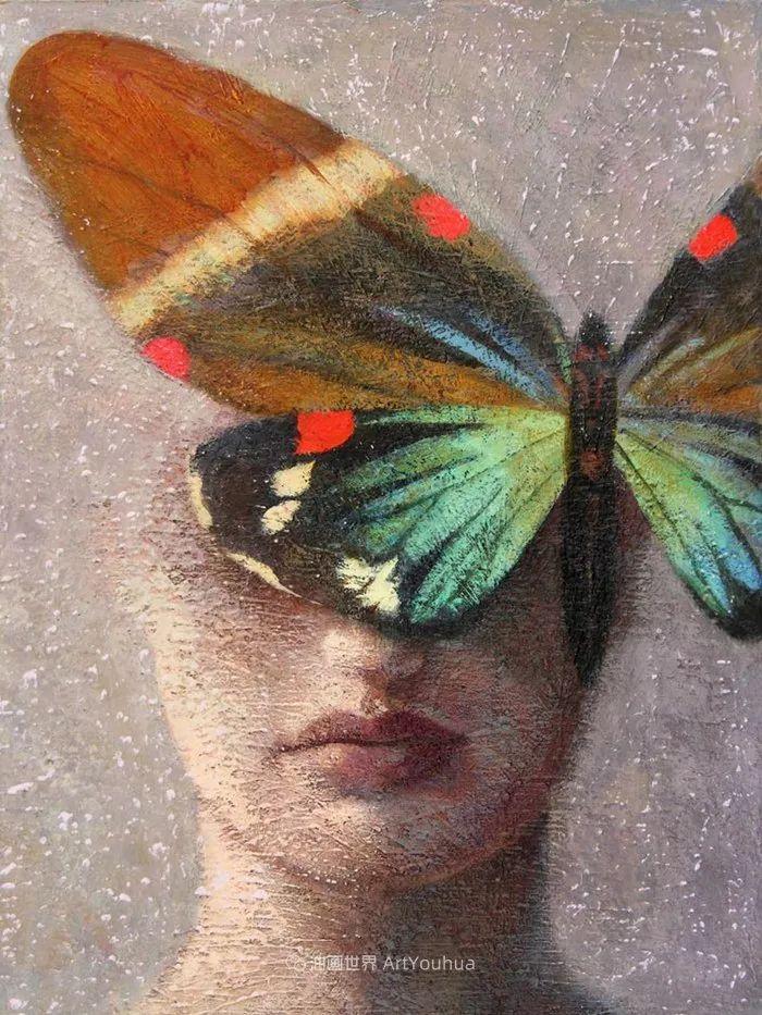 致力于形象表现的具象画家,幽灵般的人物肖像插图45