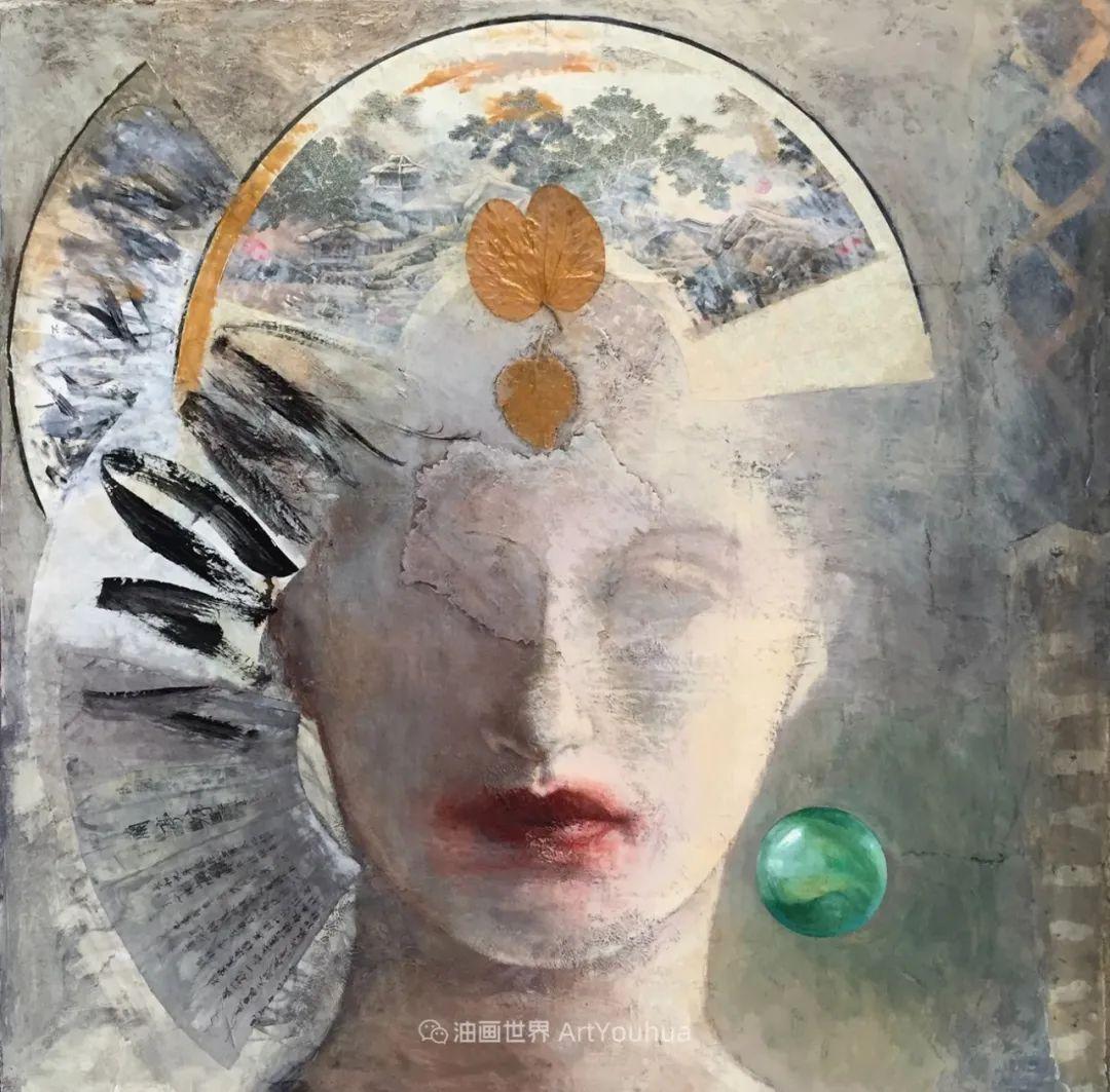 致力于形象表现的具象画家,幽灵般的人物肖像插图51