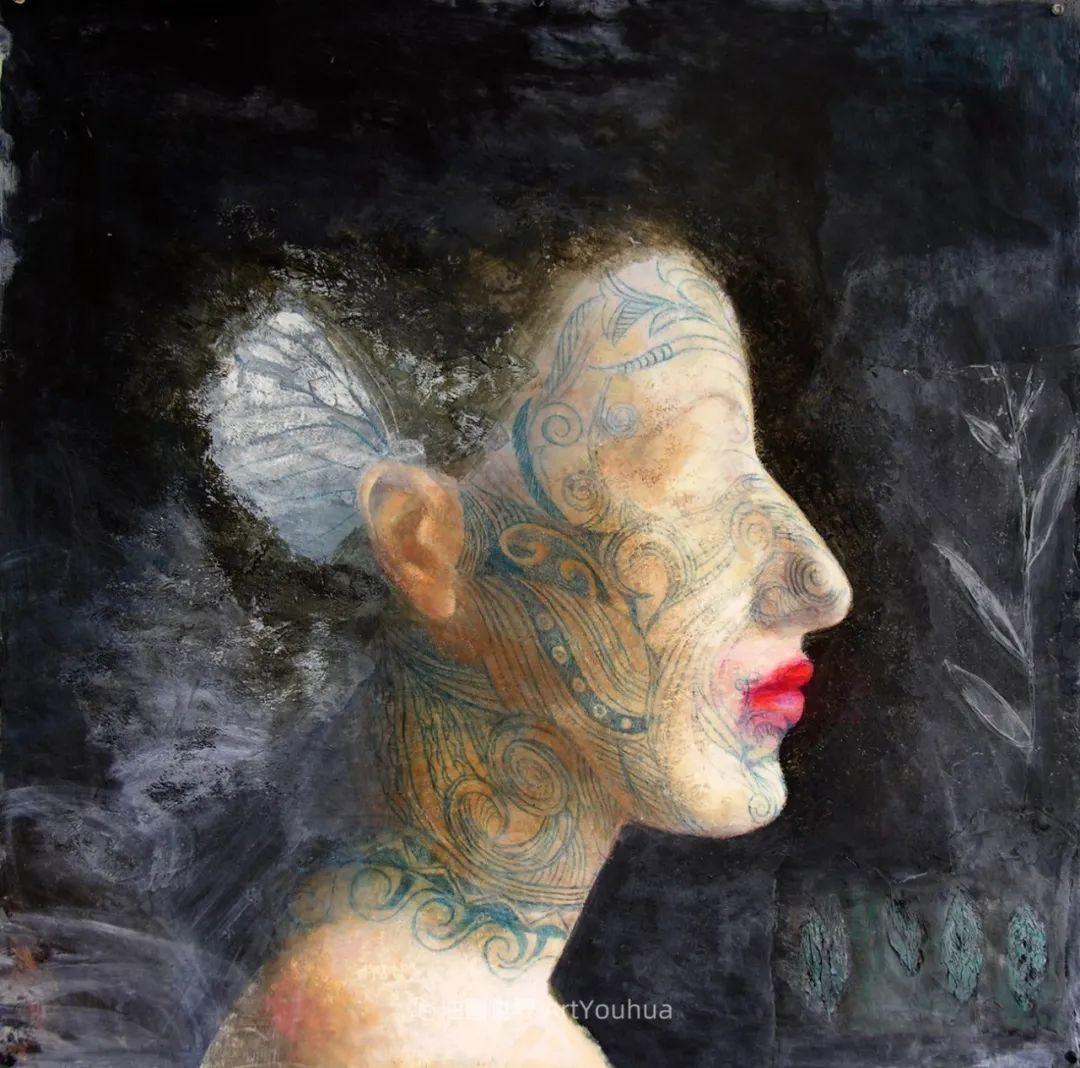 致力于形象表现的具象画家,幽灵般的人物肖像插图55