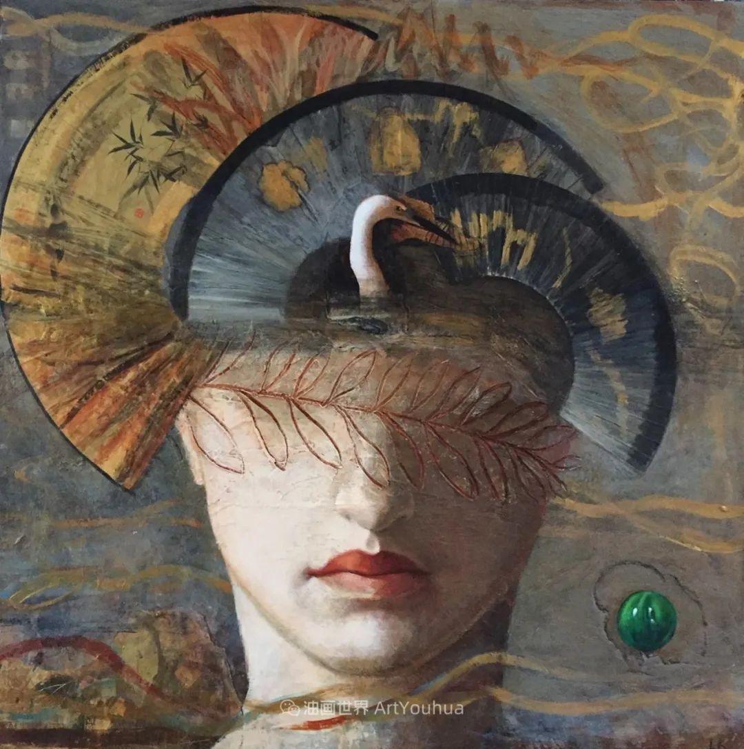 致力于形象表现的具象画家,幽灵般的人物肖像插图59