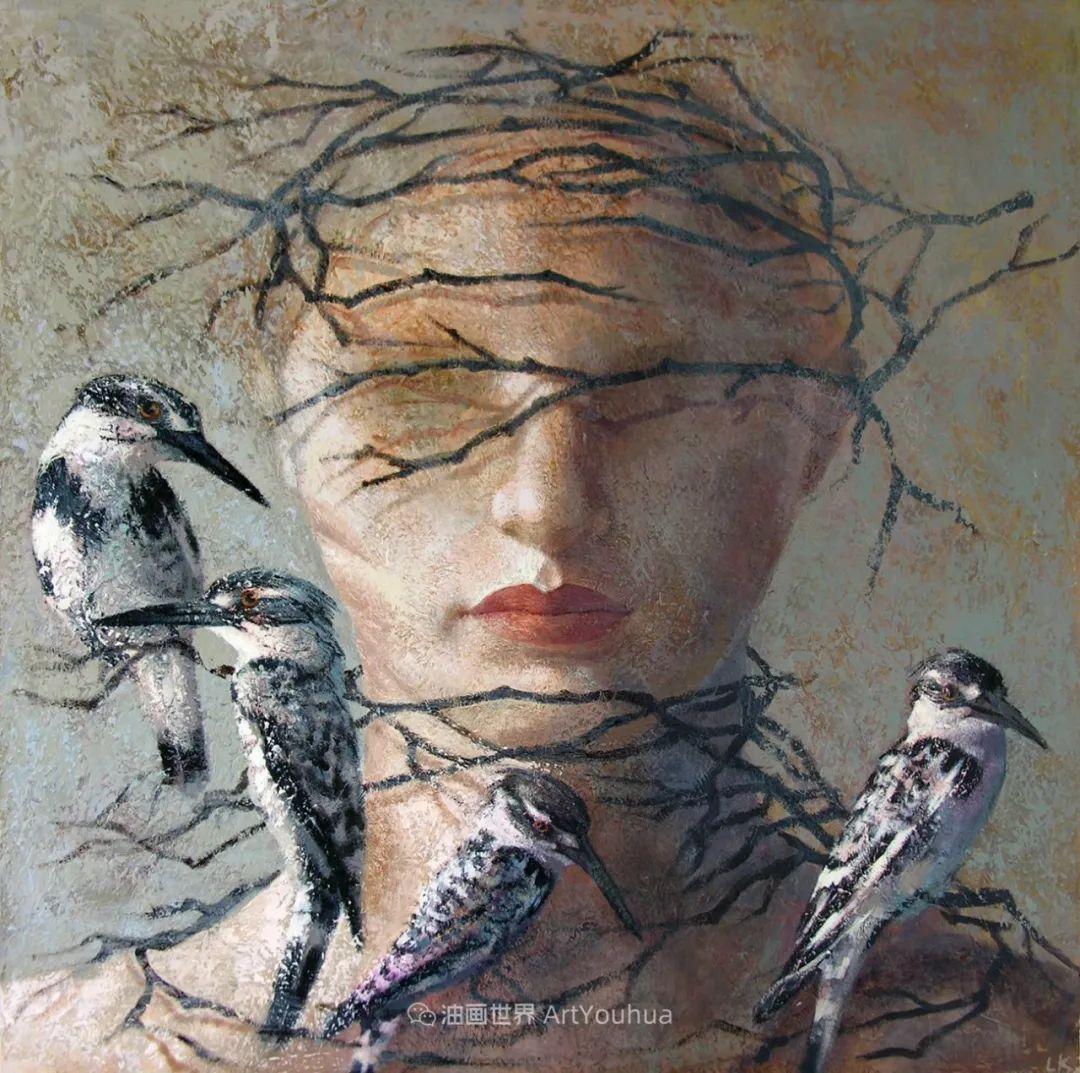 致力于形象表现的具象画家,幽灵般的人物肖像插图61
