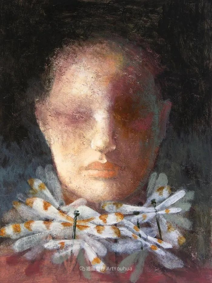 致力于形象表现的具象画家,幽灵般的人物肖像插图63