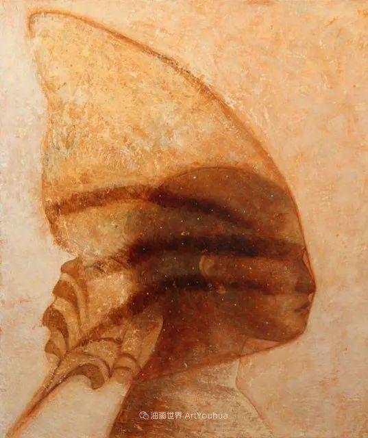 致力于形象表现的具象画家,幽灵般的人物肖像插图71