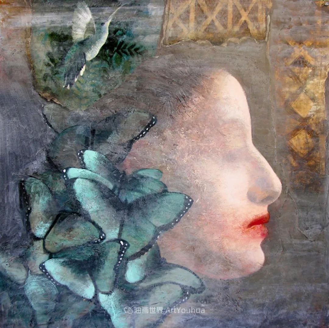 致力于形象表现的具象画家,幽灵般的人物肖像插图77