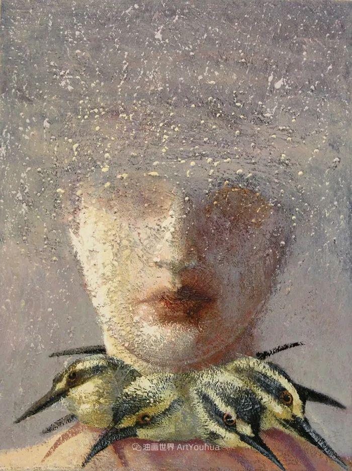 致力于形象表现的具象画家,幽灵般的人物肖像插图83
