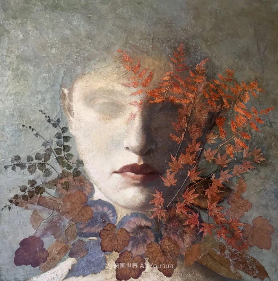 致力于形象表现的具象画家,幽灵般的人物肖像插图85