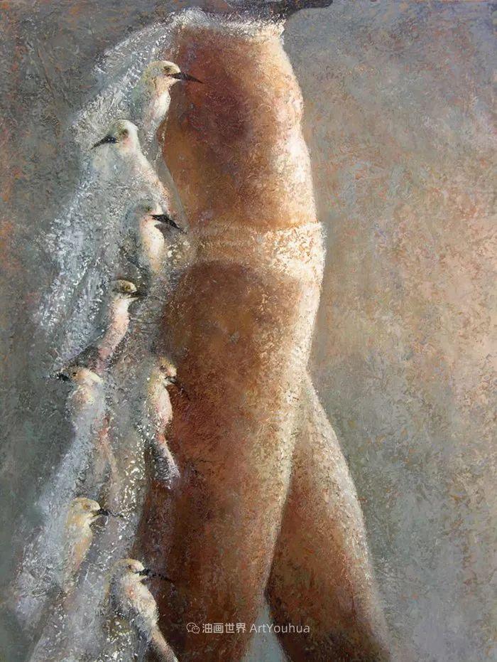 致力于形象表现的具象画家,幽灵般的人物肖像插图87