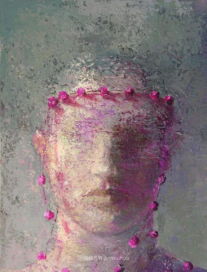 致力于形象表现的具象画家,幽灵般的人物肖像插图89