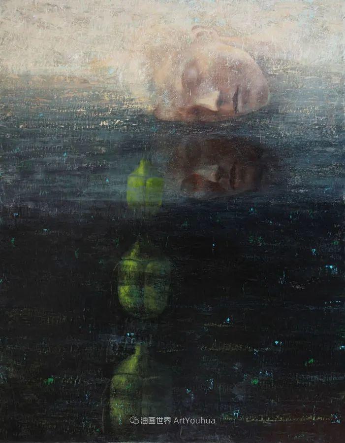 致力于形象表现的具象画家,幽灵般的人物肖像插图91