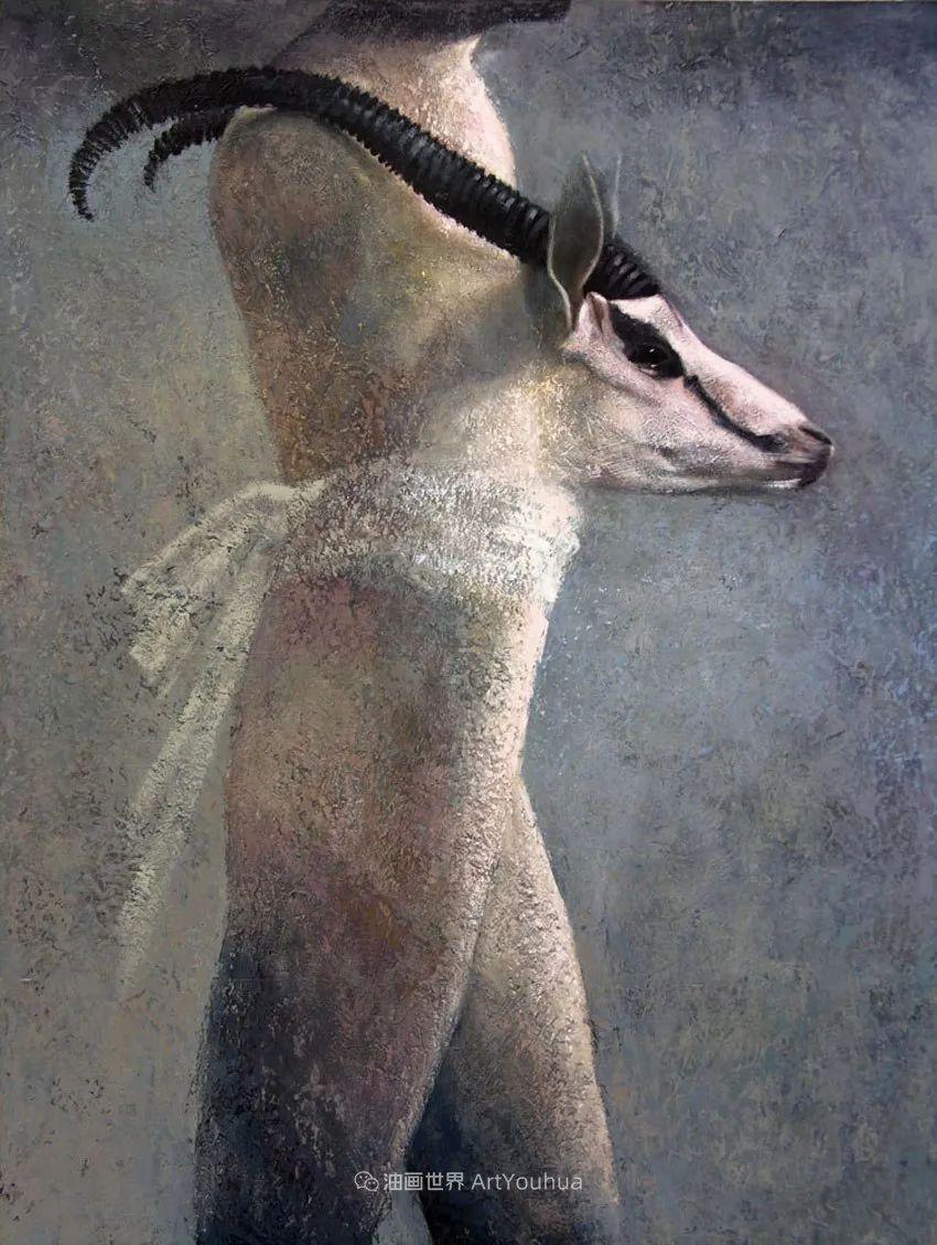致力于形象表现的具象画家,幽灵般的人物肖像插图97
