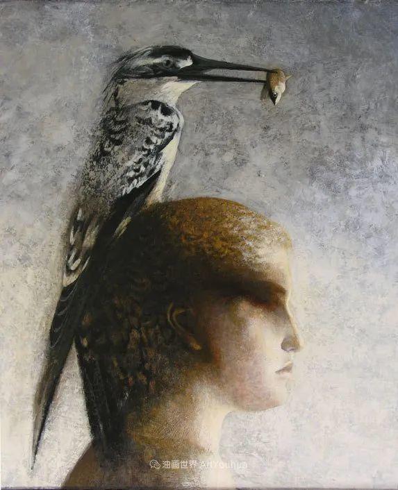 致力于形象表现的具象画家,幽灵般的人物肖像插图99