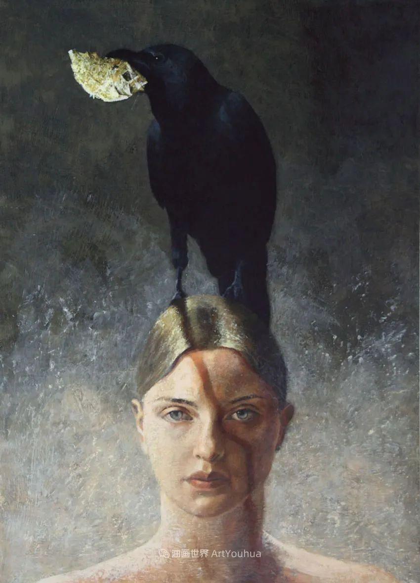 致力于形象表现的具象画家,幽灵般的人物肖像插图101