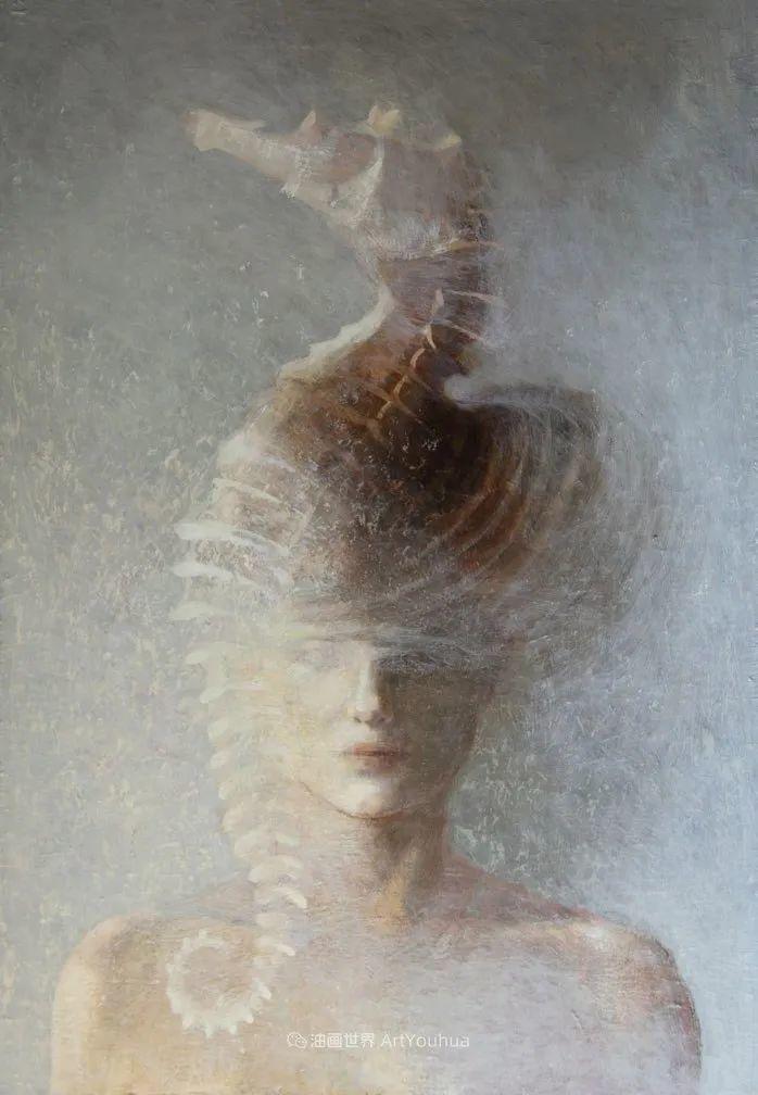 致力于形象表现的具象画家,幽灵般的人物肖像插图107