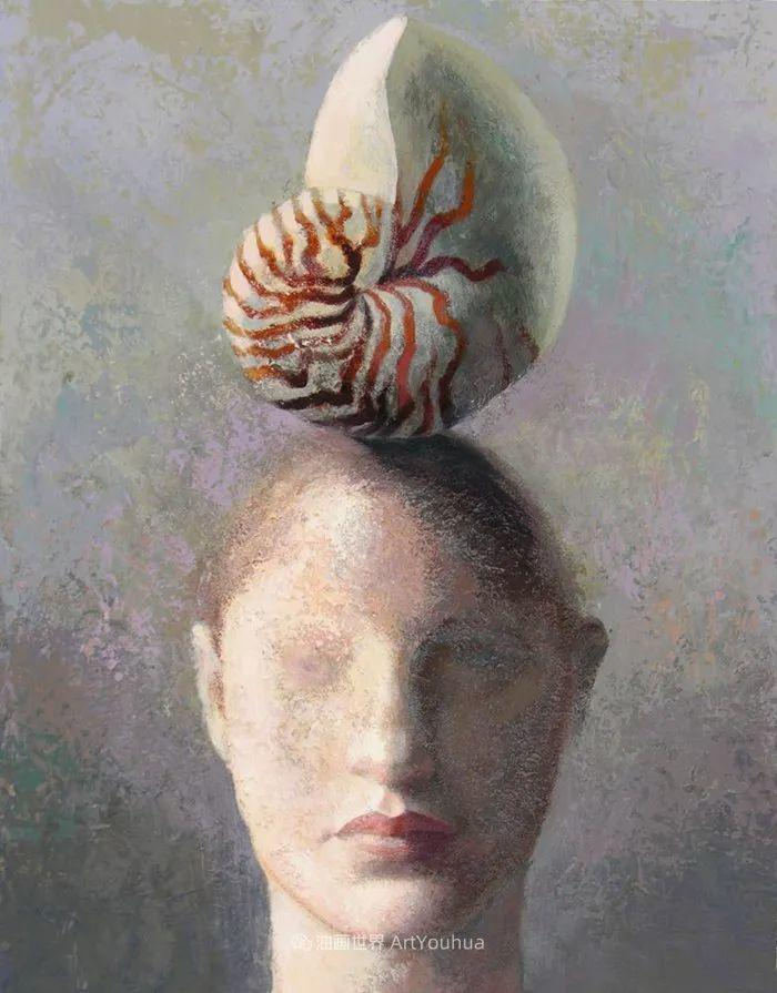致力于形象表现的具象画家,幽灵般的人物肖像插图111