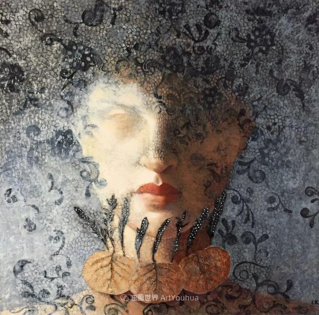 致力于形象表现的具象画家,幽灵般的人物肖像插图117