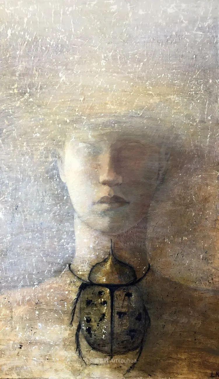 致力于形象表现的具象画家,幽灵般的人物肖像插图119