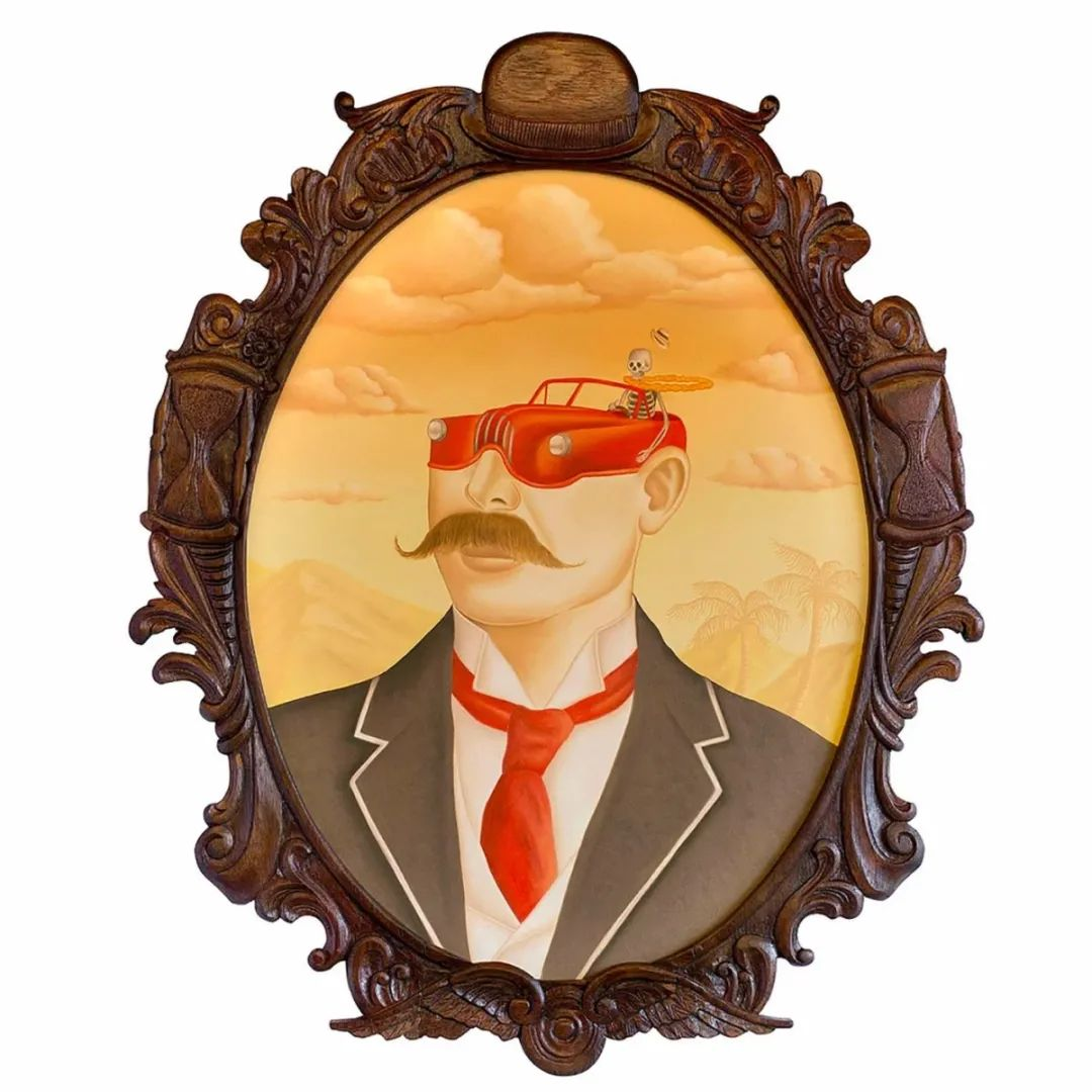 超凡的想象力,Rafael Silveira超现实主义肖像插画插图33