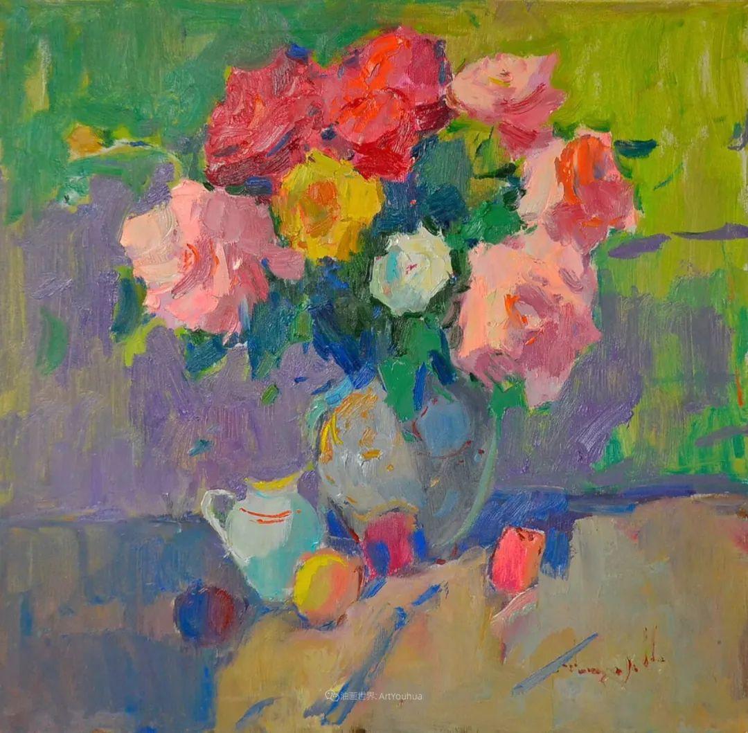 冷暖的色彩碰撞,迷人的静物与花卉作品!插图5