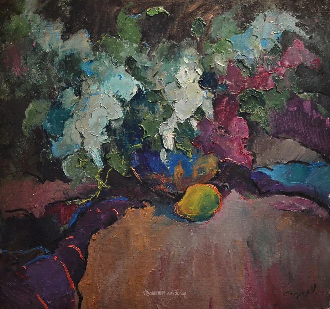 冷暖的色彩碰撞,迷人的静物与花卉作品!插图21