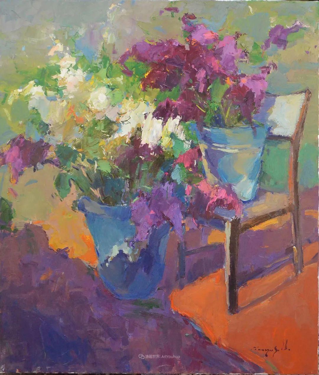 冷暖的色彩碰撞,迷人的静物与花卉作品!插图41
