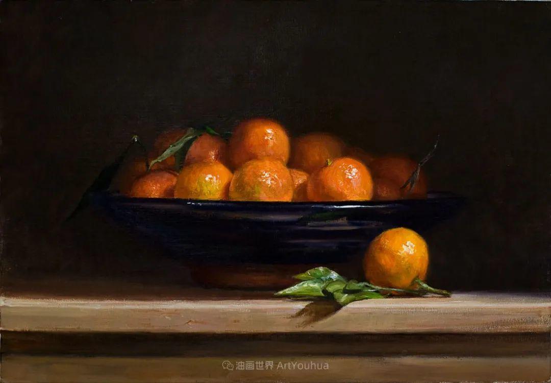 笔触下的肌理感,英国画家朱利安·史密斯插图2