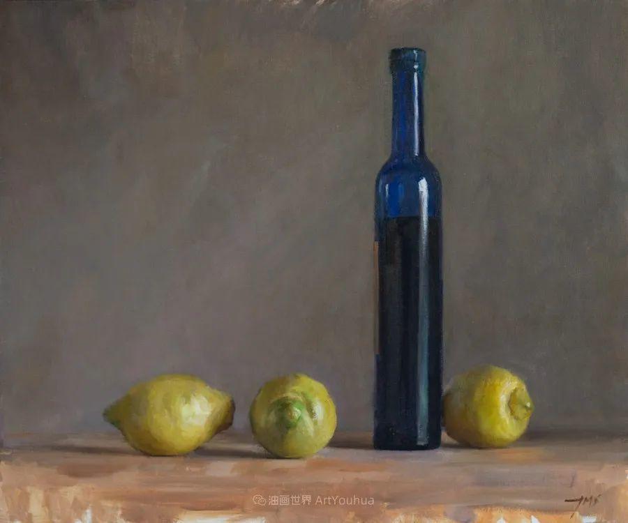 笔触下的肌理感,英国画家朱利安·史密斯插图16