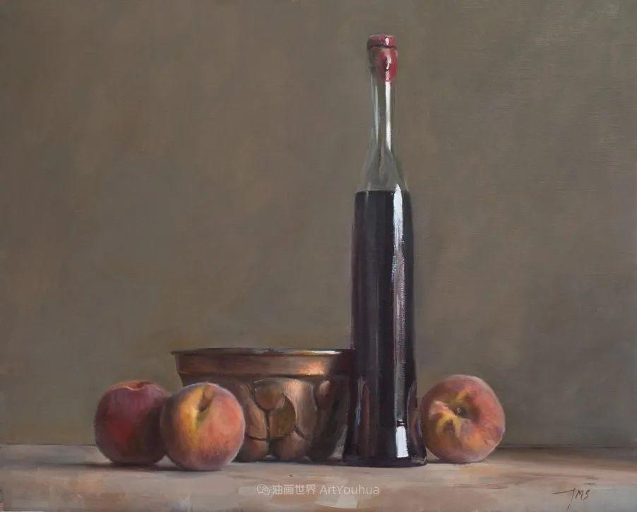 笔触下的肌理感,英国画家朱利安·史密斯插图17
