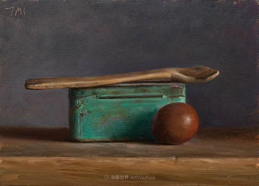笔触下的肌理感,英国画家朱利安·史密斯插图18