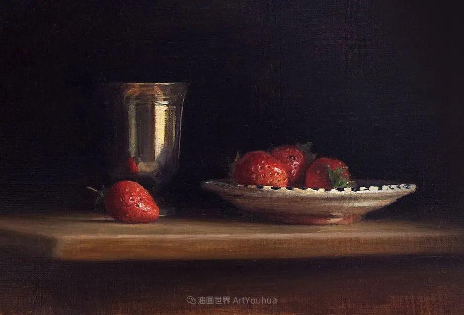 笔触下的肌理感,英国画家朱利安·史密斯插图19