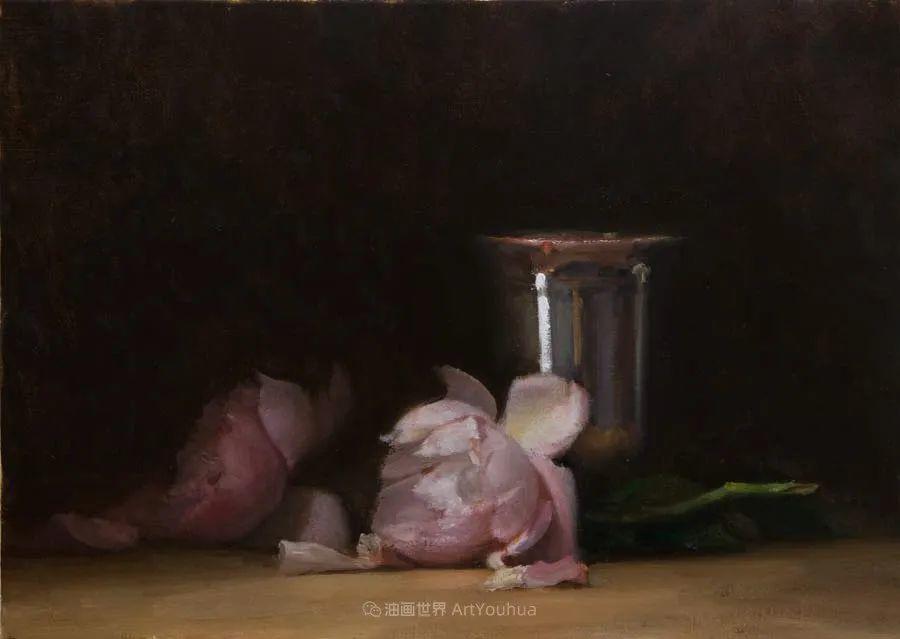 笔触下的肌理感,英国画家朱利安·史密斯插图21
