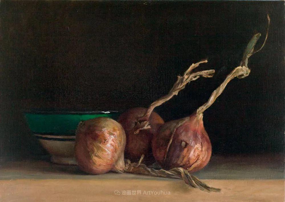 笔触下的肌理感,英国画家朱利安·史密斯插图23
