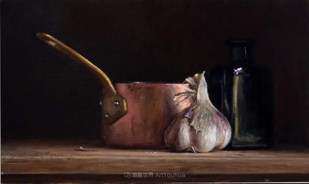 笔触下的肌理感,英国画家朱利安·史密斯插图24