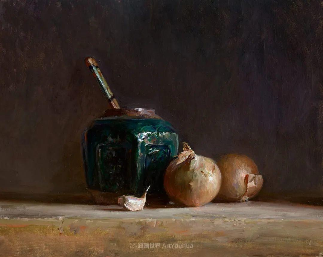 笔触下的肌理感,英国画家朱利安·史密斯插图25