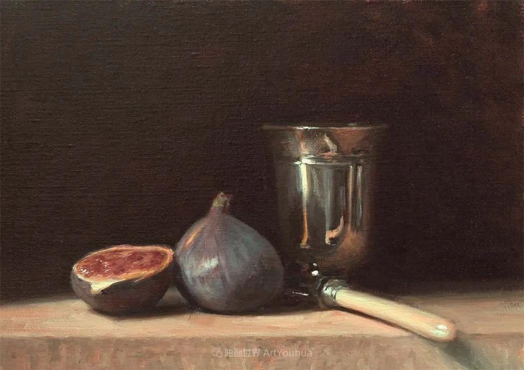 笔触下的肌理感,英国画家朱利安·史密斯插图26
