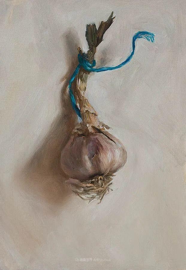 笔触下的肌理感,英国画家朱利安·史密斯插图27