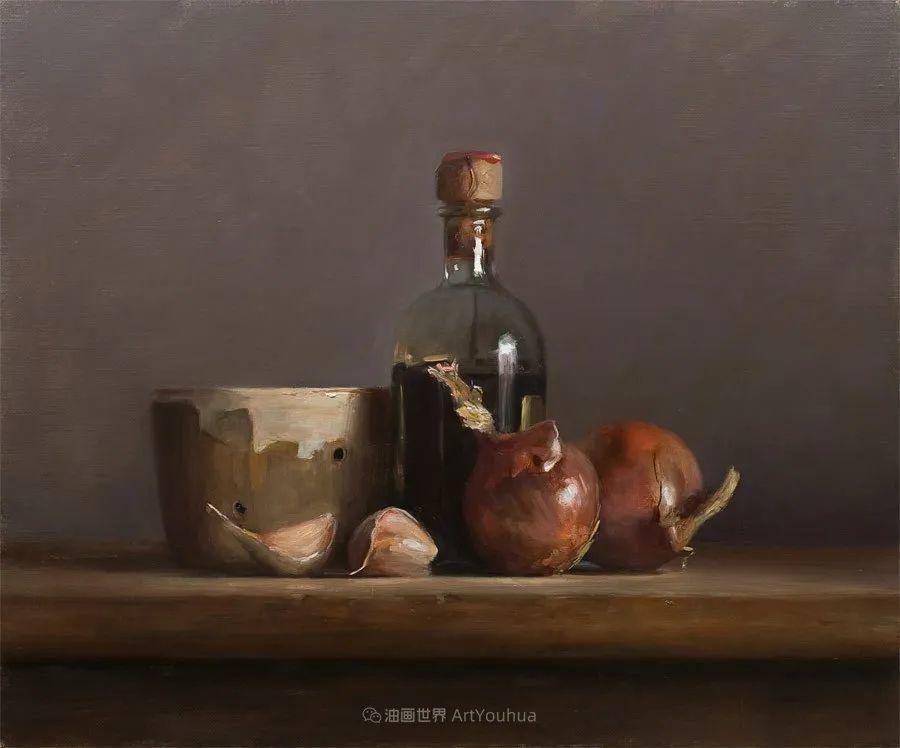 笔触下的肌理感,英国画家朱利安·史密斯插图29