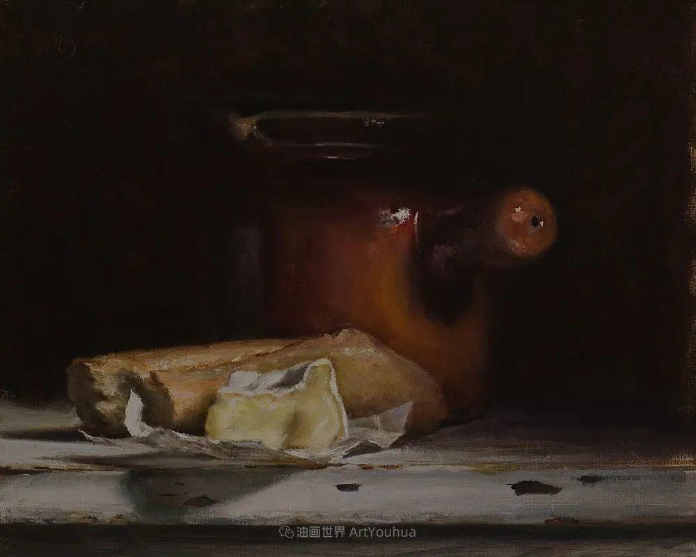笔触下的肌理感,英国画家朱利安·史密斯插图30