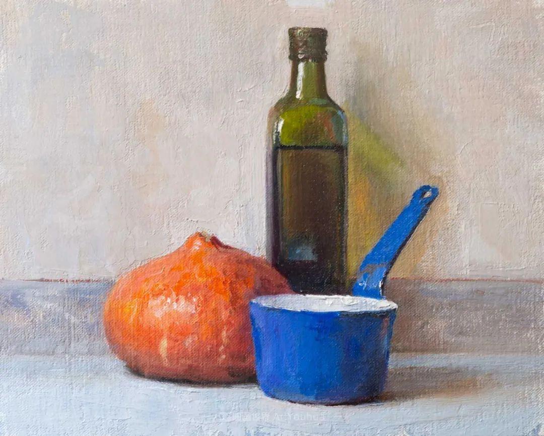 笔触下的肌理感,英国画家朱利安·史密斯插图31
