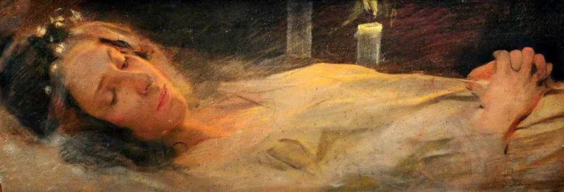 沉浸在浪漫生活和艺术氛围中,德国画家弗朗茨·吉勒里作品插图17