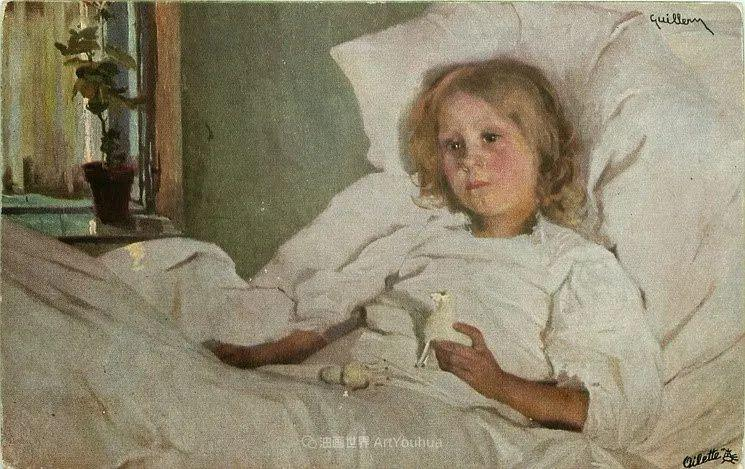 沉浸在浪漫生活和艺术氛围中,德国画家弗朗茨·吉勒里作品插图79