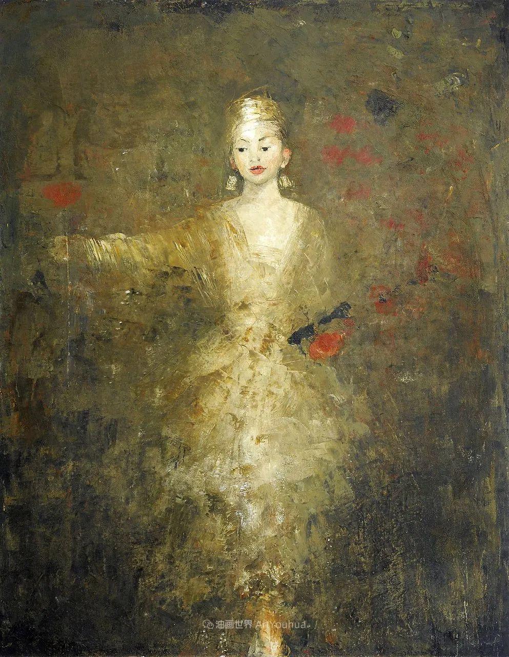 她从古代壁画中汲取灵感,但作品有一种非常现代、神秘的感觉!插图11