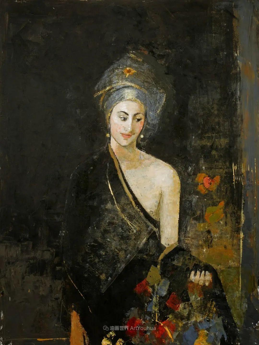她从古代壁画中汲取灵感,但作品有一种非常现代、神秘的感觉!插图17